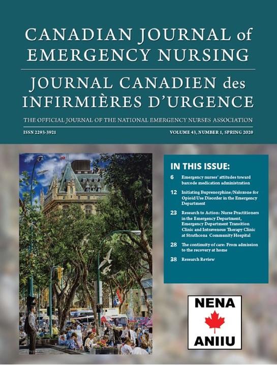 View Vol. 43 No. 1 (2020): Spring 2020: Canadian Journal of Emergency Nursing