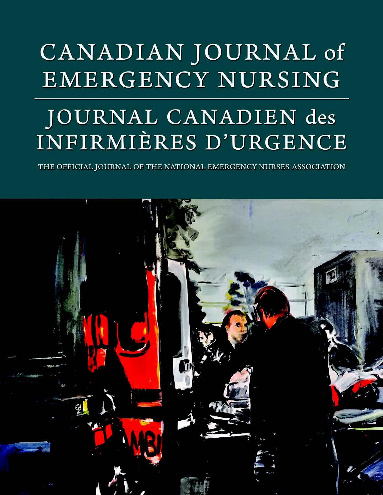 View Vol. 41 No. 1 (2018): Spring 2018: Canadian Journal of Emergency Nursing