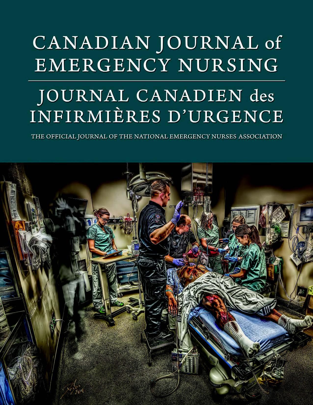 View Vol. 40 No. 2 (2017): Fall 2017: Canadian Journal of Emergency Nursing